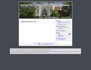 adminblogs.shc.edu screenshot