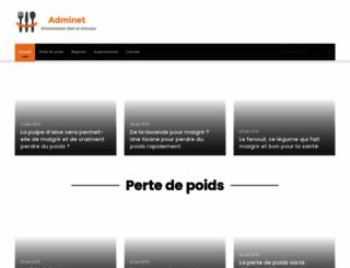 adminet.com screenshot