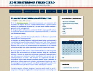 administradorfinanciero.wordpress.com screenshot