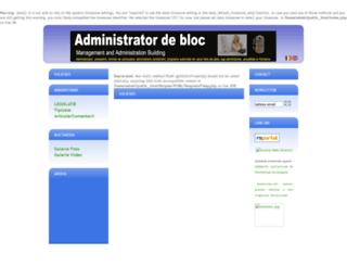 administratordebloc.ro screenshot