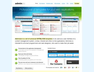 adminizio.com screenshot