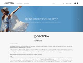 admintools.chictopia.com screenshot