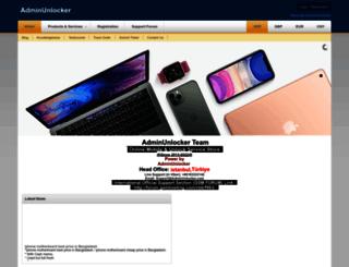 adminunlocker.com screenshot