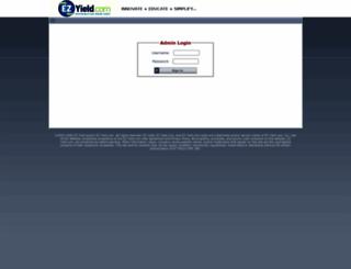 adminv2.ezyield.com screenshot