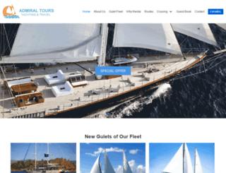 admiral-tours.com screenshot
