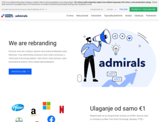 admiralmarkets.com.hr screenshot