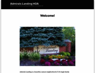 admiralslandinghoa.com screenshot