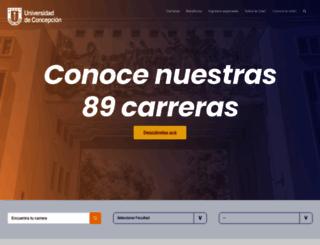 admision.udec.cl screenshot