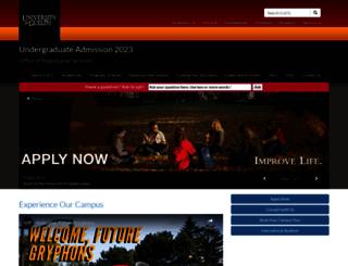 admission.uoguelph.ca screenshot