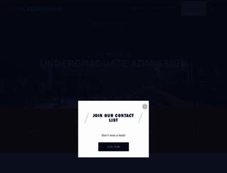 admission.virginia.edu screenshot