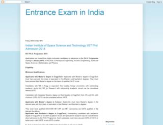 admissionaware.blogspot.in screenshot