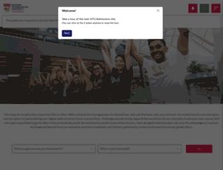 admissions.ntu.edu.sg screenshot