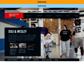 admissions.wesley.edu screenshot