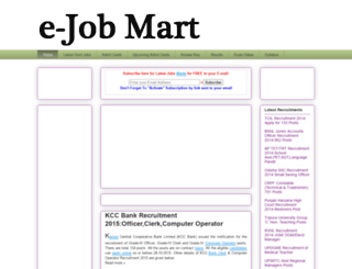 admitcard-recruitment-result.blogspot.com screenshot