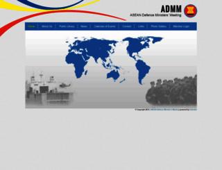 admm.asean.org screenshot