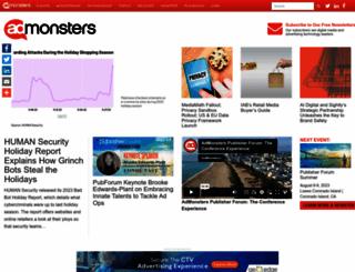 admonsters.com screenshot