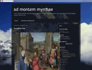 admontemmyrrhae.blogspot.ch screenshot