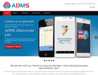 admsystems.net screenshot