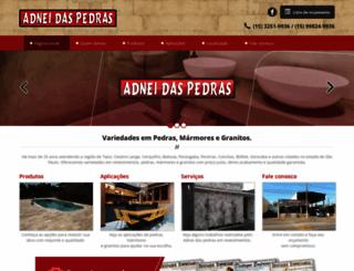adneidaspedras.com.br screenshot