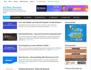adnetsreview.com screenshot