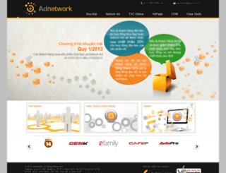 adnetwork.admicro.vn screenshot