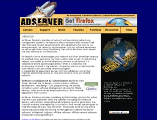 adnetwork.adserversolutions.com screenshot