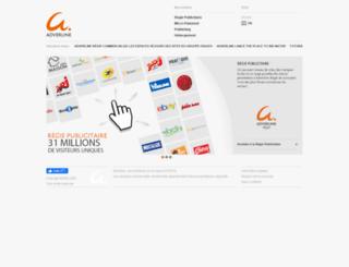 adnext.fr screenshot