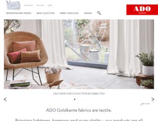 ado-goldkante.com screenshot