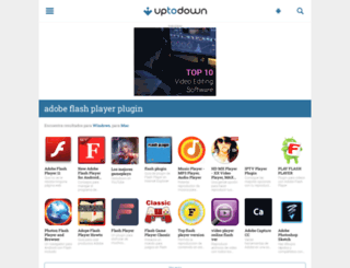 adobe-flash-player-plugin.uptodown.com screenshot