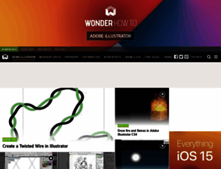 adobe-illustrator.wonderhowto.com screenshot