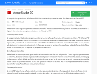 adobe-reader.portalux.com screenshot