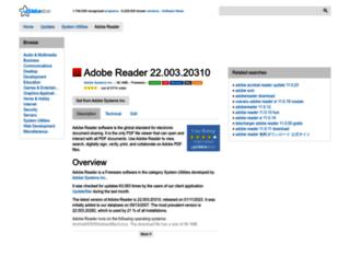 adobe-reader.updatestar.com screenshot