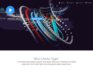 adobe-target.com screenshot