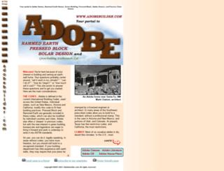 adobebuilder.com screenshot