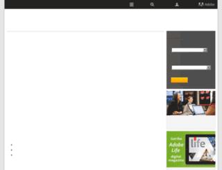 adobeindia.com screenshot
