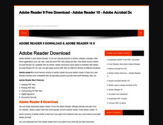 adobereaderdownload.net screenshot