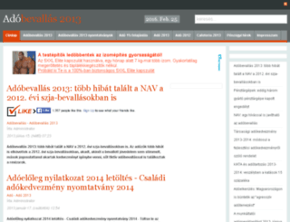 adobevallas.info screenshot