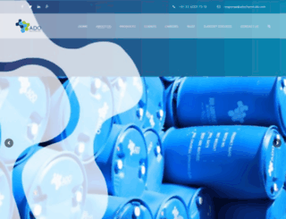 adochemicals.com screenshot