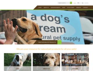 adogsdreamseattle.com screenshot