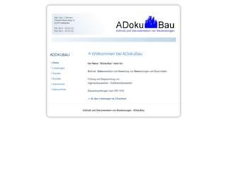adokubau.de screenshot
