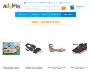adoleta-shop.com.br screenshot
