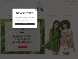 adonblanc.com screenshot