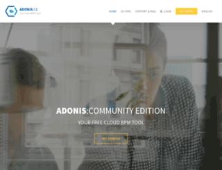 adonis-community.com screenshot