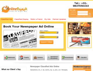 adonlinebook.com screenshot