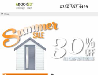 adoored.co.uk screenshot