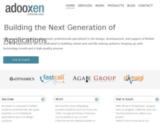 adooxen.com screenshot