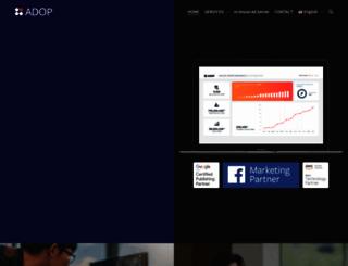 adop.co.kr screenshot