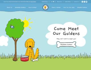 adoptagoldenatlanta.com screenshot