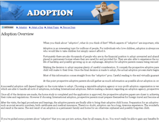 adoption.itsbobsfault.com screenshot