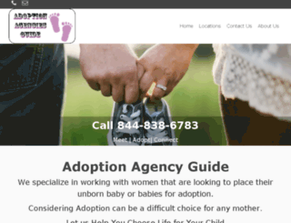 adoptionagenciesguide.com screenshot